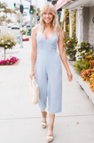 Blue Skies Jumpsuit - Amaryllis Land