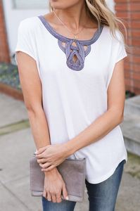 Avila Embroidered Top