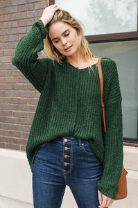 Long Live Chunky Knit Sweater - Amaryllis Land