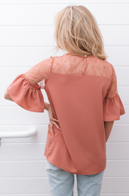 All in the Details Blouse - Amaryllis Land