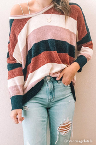 Ali Color Block Sweater