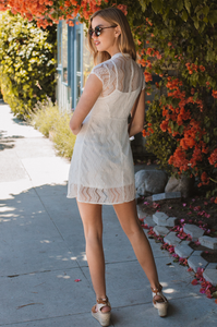 Charmed Lace Dress - Amaryllis Land