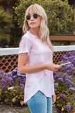Cielo Cloud Wash Tee - Amaryllis Land