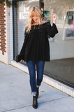 Lacy Off-The-Shoulder Top - Amaryllis Land
