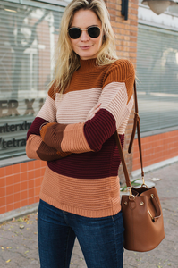 Presley Ribbed Sweater - Amaryllis Land