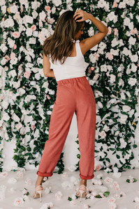 Vera High-Waisted Trousers - Amaryllis Land