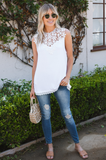 Dina Lace Yoke Top