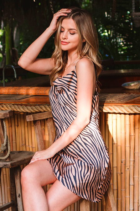 Rayas Tiger Dress - Amaryllis Land