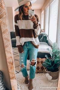 Geneva Striped Sweater