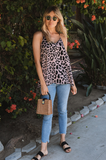Laura Leopard Camisole