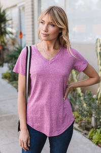Amaryllis Tee (Heathered)