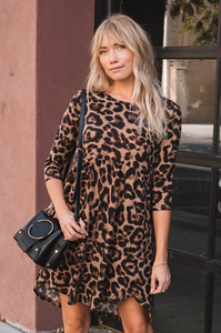 Alma Leopard Dress - Amaryllis Land