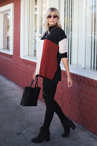 Flagship Chenille Sweater - Amaryllis Land