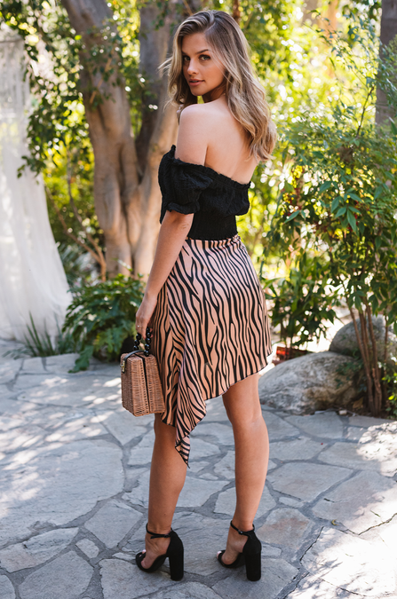 Sahara Tiger Skirt - Amaryllis Land