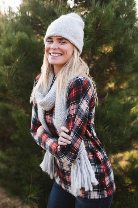 Big Bear Plaid Long Sleeve - Amaryllis Land