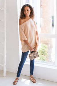 Santa Fe Knit Sweater Top