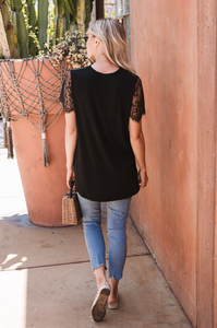 Julie Lace Tee
