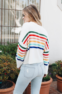 Over The Rainbow Sweater - Amaryllis Land