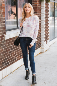 Confetti Knit Sweater - Amaryllis Land