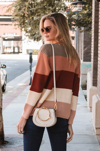 Clifton Colorblock Sweater - Amaryllis Land