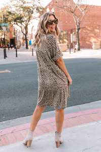 Lennie Leopard Tunic Dress