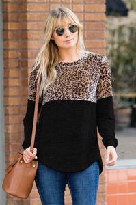 Fierce Cheetah Long Sleeve - Amaryllis Land