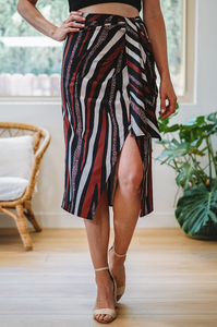 Tulum Draped Skirt