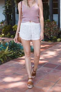 Tahiti Crochet Shorts