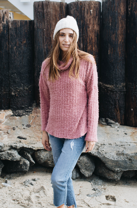 Cassidy Cowl Sweater - Amaryllis Land