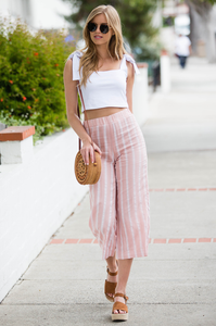 Alexa Wide-Leg Pants - Amaryllis Land