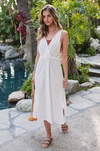 Poolside Midi Dress - Amaryllis Land