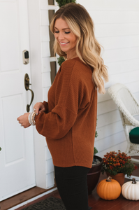 Red Dirt Rustic Waffle Knit