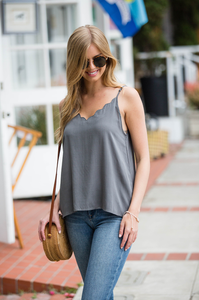 Simply Scalloped Camisole