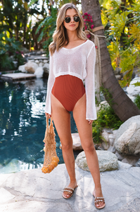 Havana Crochet Long Sleeve - Amaryllis Land