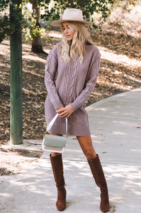 Warm Up To Us Sweater Dress