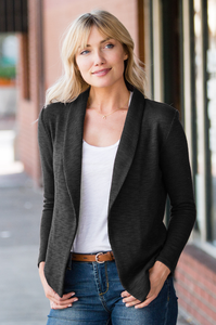 Strictly Business Blazer Cardigan