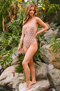 Monterey Dot One Piece - Amaryllis Land