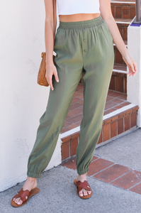Amelia Button Trousers - Amaryllis Land