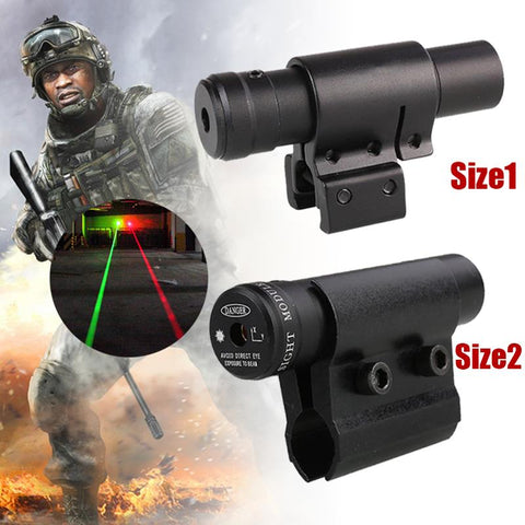 Red Laser Sight with 20mm/11mm Rail Mount Laser Dot