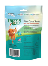 Load image into Gallery viewer, Emerald Pet Dental Treats Ocean Fish Flavor for Cats