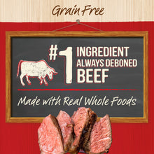 Load image into Gallery viewer, Merrick Grain Free Big Texas Steak Tips Dinner Canned Dog Food