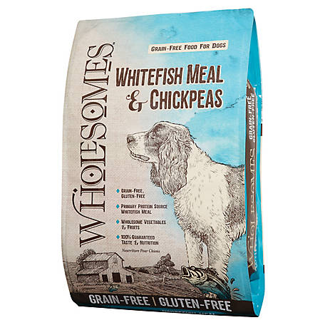 Wholesomes Whitefish Meal and Chickpeas Grain-Free (35 lb)