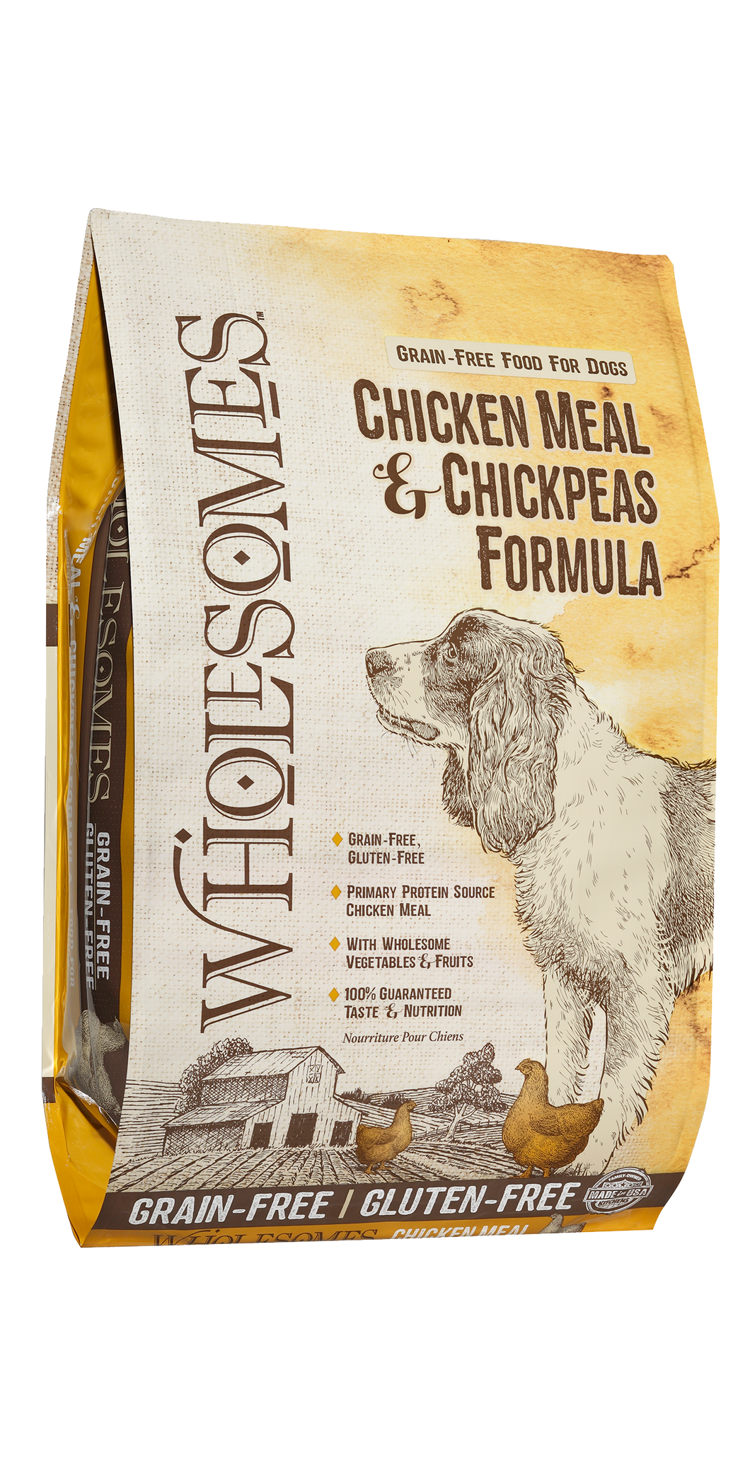 Wholesomes Grain Free Chicken Meal And Chickpeas (35 lb)