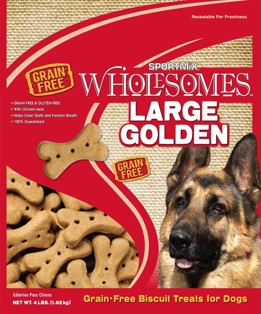 Wholesomes Sportmix Large Dog Treats (4 lb)