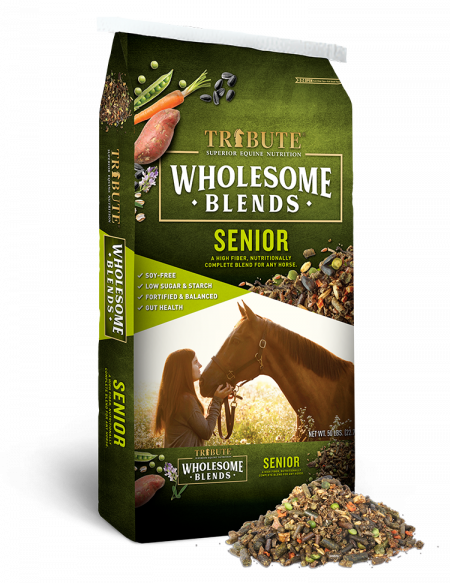 Tribute Wholesome Blends Senior (50 lb)