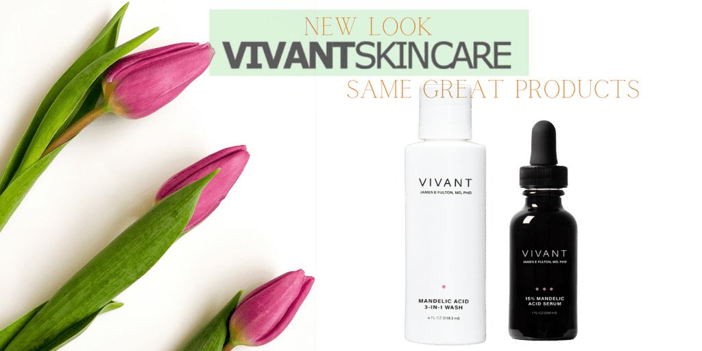 Vivant Skin care has a new look