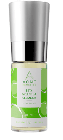 Beta Green Tea Cleanser in a bottle