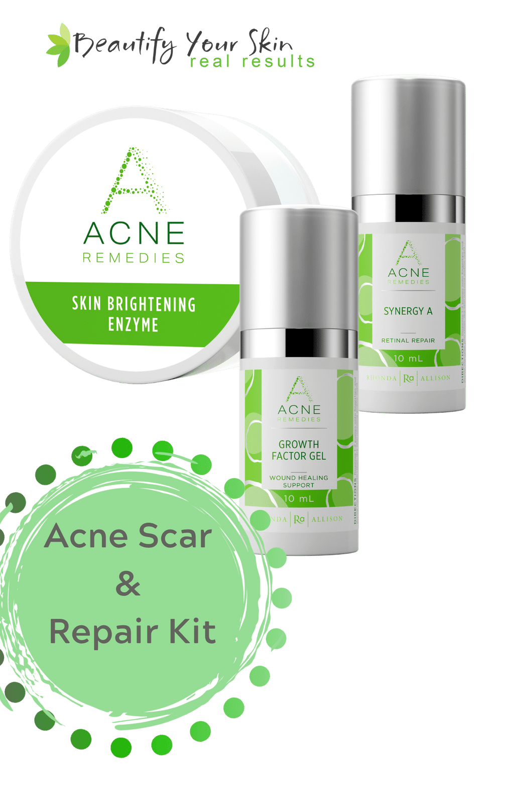 Custom Facial Kit - Acne Scar and Repair Kit