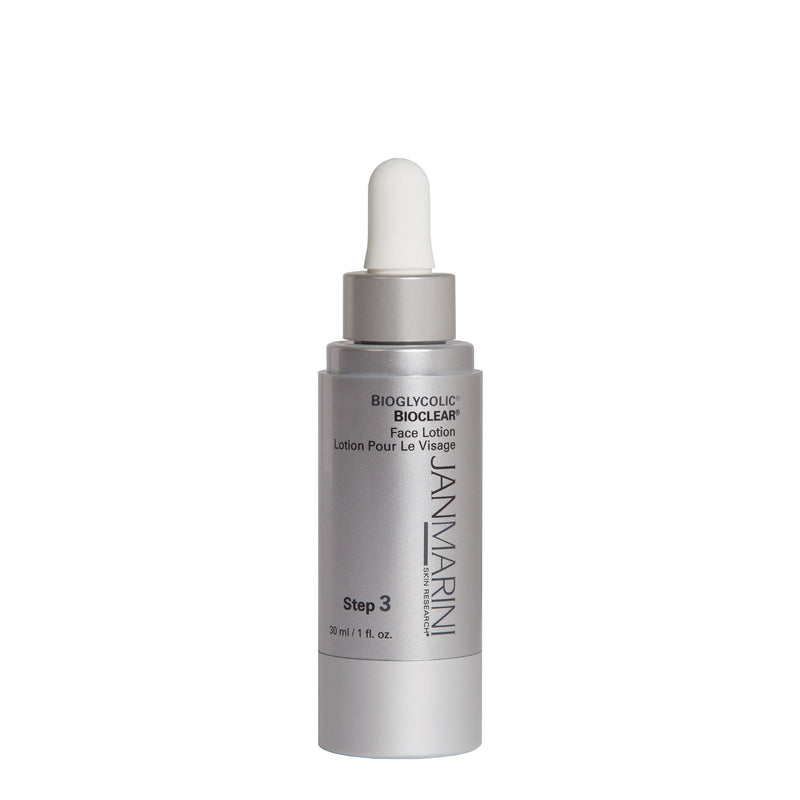 Bioglycolic Bioclear Lotion bottle by Jan Marini