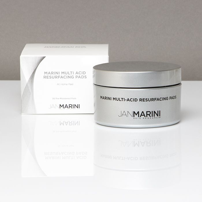 MARINI MULTI-ACID RESURFACING PADS At-Home Peel